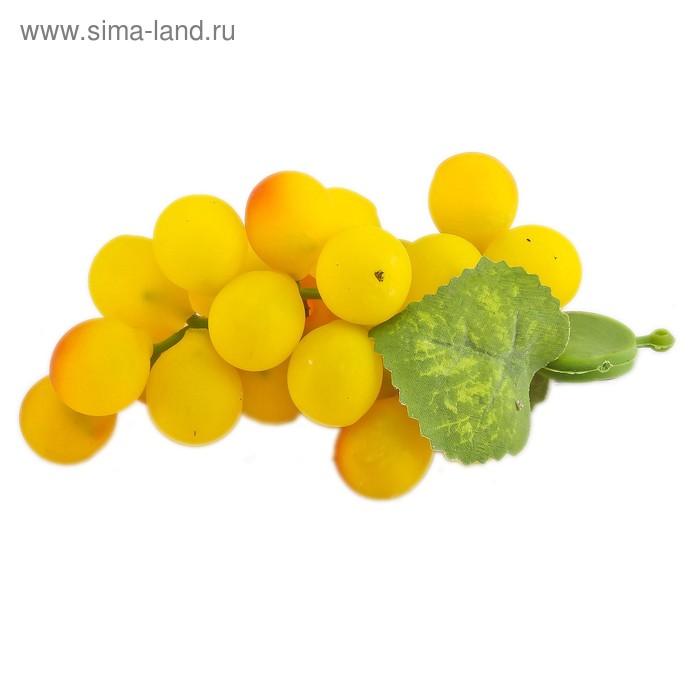 """Магнит """"Виноград"""" с бархатным напылением, 22 ягоды"""