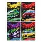 Блокнот А7, 40 листов на скрепке Calligrata «Авто и скорость», обложка картон хром-эрзац