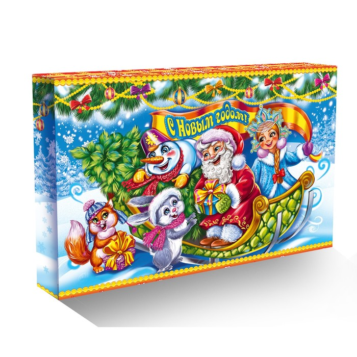 "Подарочная коробка ""Календарь"" 47,9 х 4,3 х 31,1"