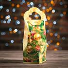 """Подарочная коробка """"Кристалл"""", сборная, золотой, 8 х 8 х 20 см - фото 144595775"""