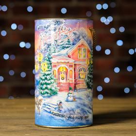 """Gift box-tube """"Sunset"""" 12 x 22 cm"""