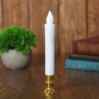"""Свеча светодиодная """"Вдохновение"""", цвет белый   , модель N014"""