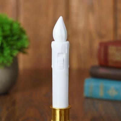 """Свеча светодиодная """"Вдохновение"""", цвет белый   , модель СВ-15"""