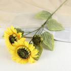 """Цветы искусственные """"Куст подсолнухов"""" - фото 1692697"""