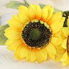 """Цветы искусственные """"Куст подсолнухов"""" - фото 1692698"""