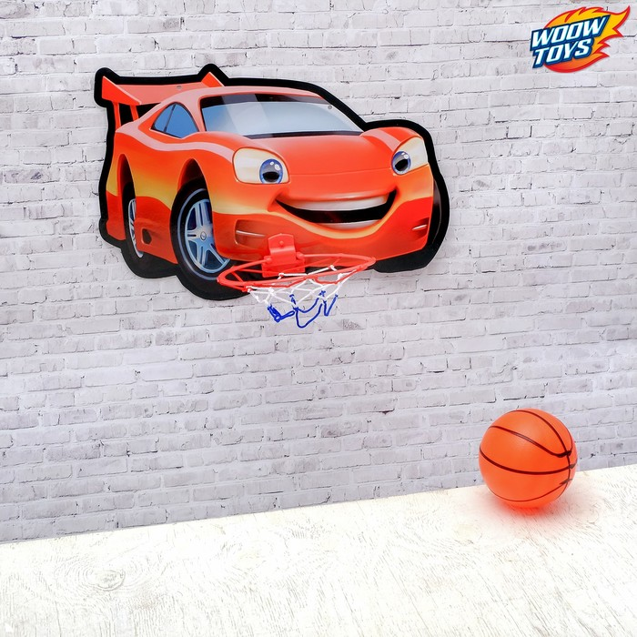 Игра баскетбол «Машинка»
