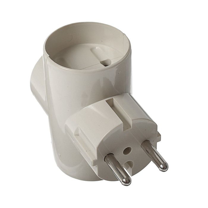 ЕвроТройник электрический REXANT, без заземления 220 В, 16 А , 11-1061