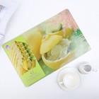 """Набор салфеток кухонных """"Лимонное лакомство"""", 12 шт: 6 шт - 42х27 см, 6 шт - 10х10 см"""