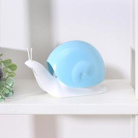 Дозатор для жидкого мыла «Улитка», 120 мл, цвет МИКС