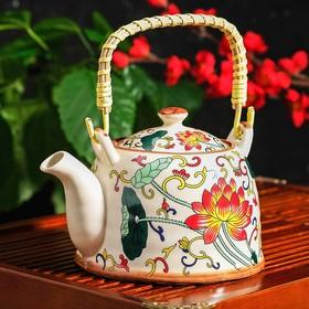 Чайник заварочный «Лотос», 900 мл, с металлическим ситом