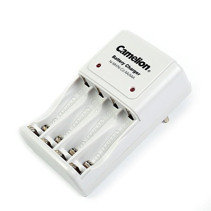 Зарядное устройство Camelion BC-1010B, для аккумуляторов 4хAA/AAA, ток: 200 мА