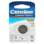 Батарейка литиевая Camelion CR2025-1BL (CR2025-BP1), 3V, блистер, 1 шт.