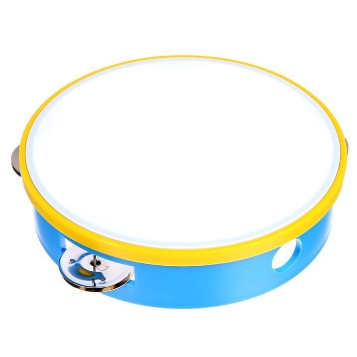 Музыкальная игрушка «Бубен», цвета МИКС