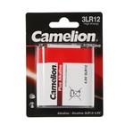 Батарейка алкалиновая Camelion Plus Alkaline, 3LR12-1BL (3LR12-BP1), 4.5В, блистер, 1 шт.