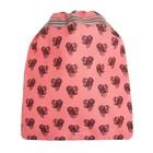 """Мешок для обуви 355*430 Jeune Premier дев """"Леди Собака"""" розовый Ki018115"""