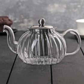 Чайник заварочный «Диана», 800 мл, с металлическим ситом