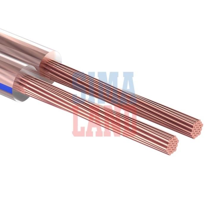Кабель акустический PROCONNECT BLUELINE, 100 м, ШВПМ 2х2.5 мм2, прозрачный