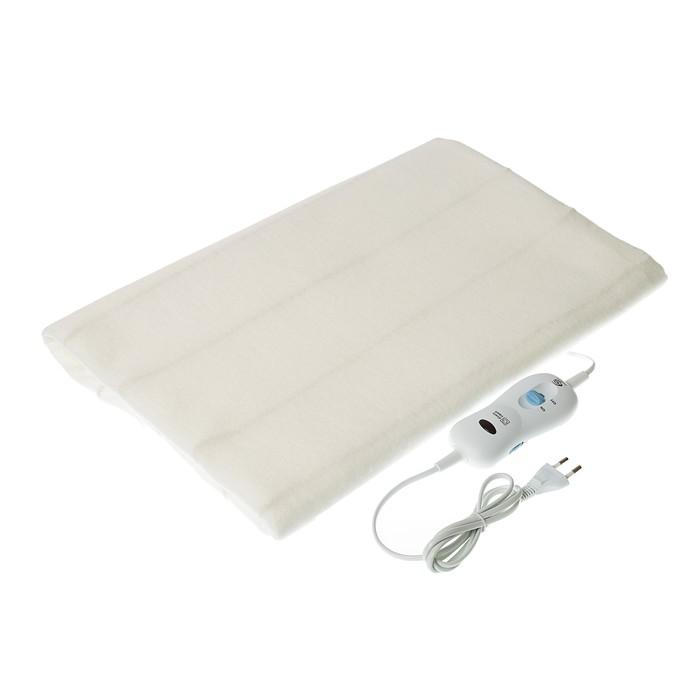 Электропростынь EcoSapiens ES-400, 100 Вт, полиэстер, 150х90 см, ИК-прогрев, белая