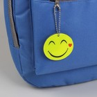 """Reflective element """"Smiley"""", double-sided, d = 5.3 cm, color yellow"""