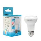 Лампа светодиодная Smartbuy, R63, Е27, 8 Вт, 4000 К