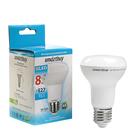Лампа светодиодная Smartbuy, R63, Е27, 8 Вт, 6000 К
