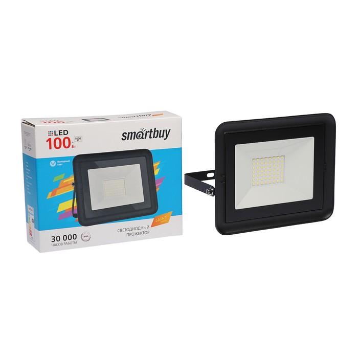 Прожектор светодиодный Smartbuy FL SMD LIGHT, 100 Вт, 6500 К, 5650 Лм, IP65, холодный белый