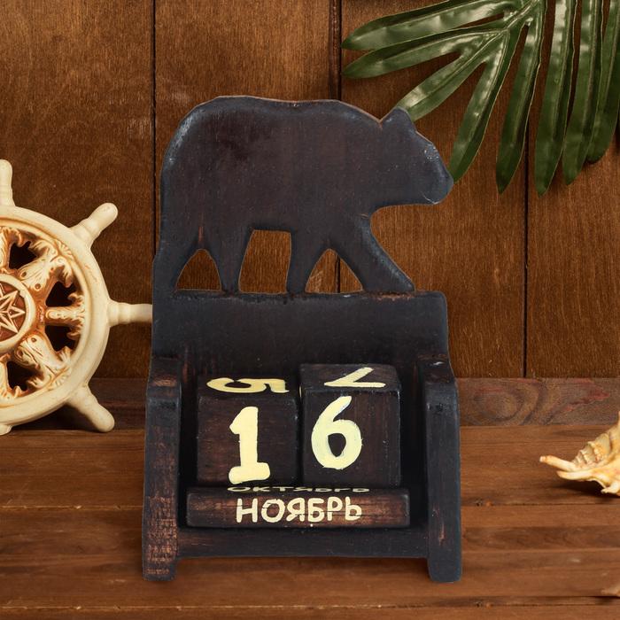 """Вечный календарь """"Медведь"""" - фото 370218490"""