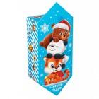 Сборная коробка‒конфета «Зверята», 9.3 × 14.6 × 5.3 см