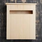 Ящик почтовый деревянный 34х25х13 см