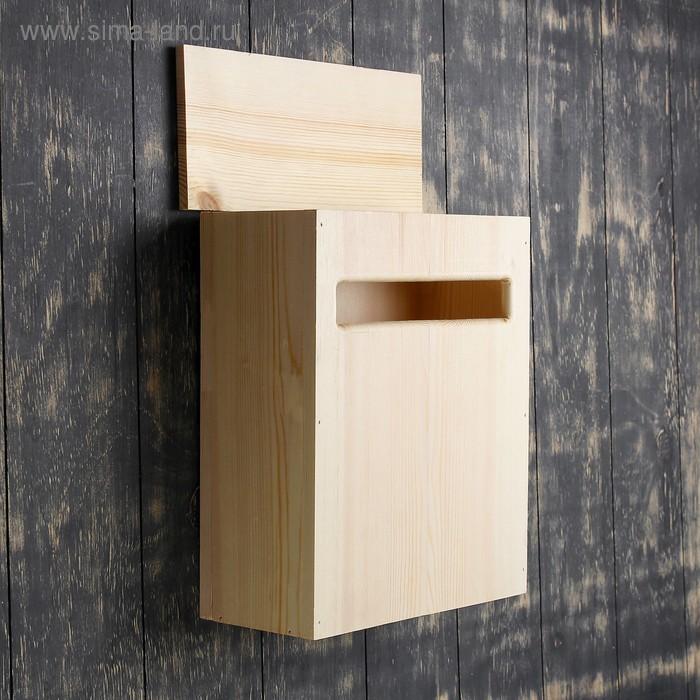 d68e5338dde99 Ящик почтовый деревянный 34х25х13 см (3811703) - Купить по цене от ...