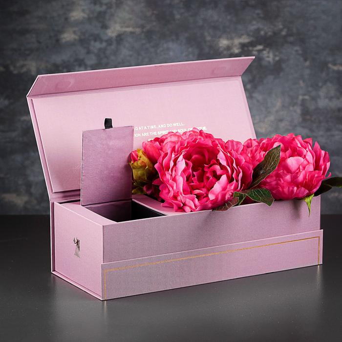 Коробка подарочная, 35 х 15 х 10,5 см - фото 8877381