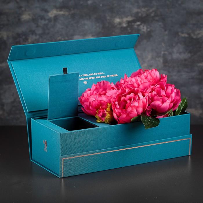 Коробка подарочная, 35 х 15 х 10,5 см - фото 8877385