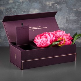 Коробка подарочная, 35 х 15 х 10,5 см