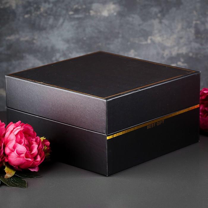 Коробка подарочная, 28 х 28 х 15 см - фото 8877408