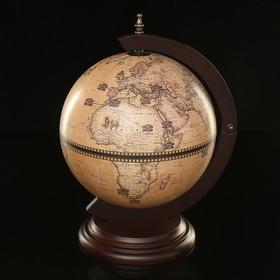 Глобус бар декоративный 'Карта Колумба' 50х33х33 см Ош