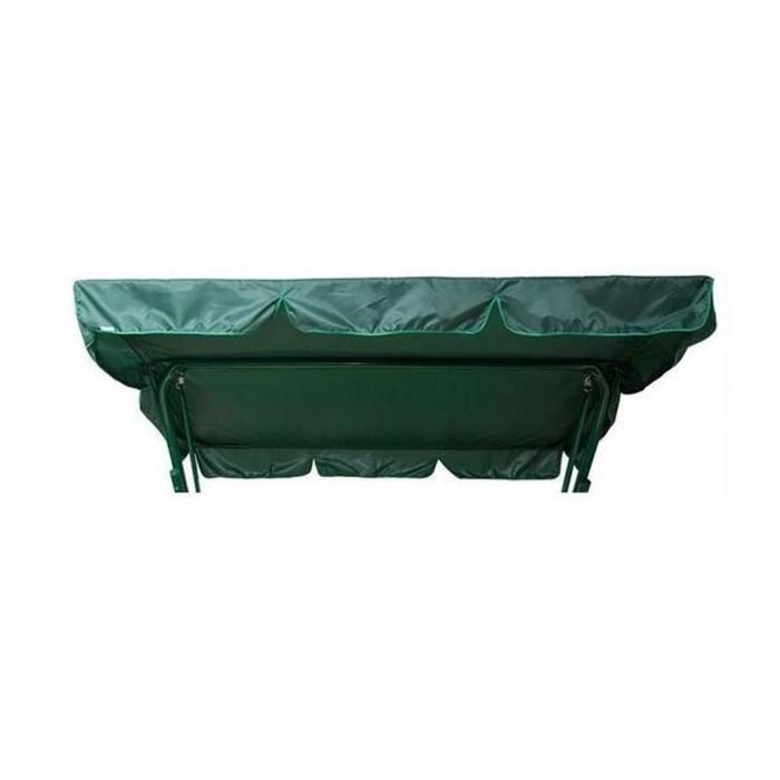 Тент-Крыша для качелей Размер: 254 х147 см, зелёный