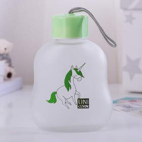 """Bottle 300 ml """"Unicorn"""", the pattern and color MIX"""