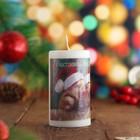 """Свеча новогодняя """"Счастливого Нового Года"""" 5,2х9,5см"""