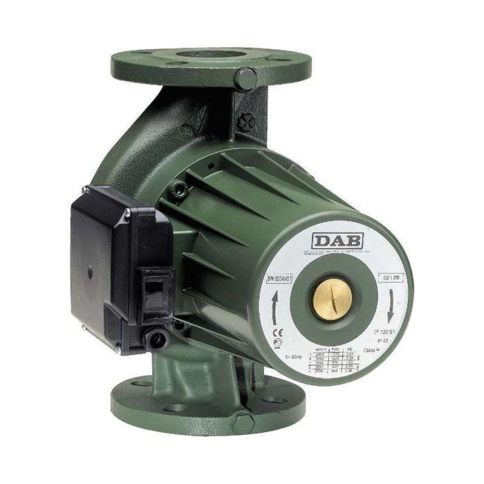 Насос циркуляционный DAB BPH 120/250.40M 505907002, напор 10.3 м, 240 л/мин, 376-498-510 Вт   385175