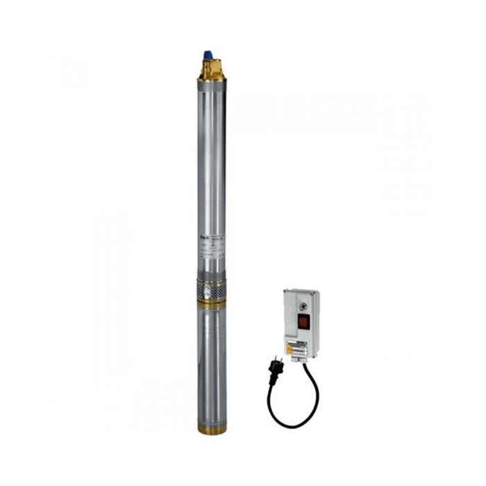 Насос скважинный DAB MICRA 100 M, 750 Вт, напор 874 м, 400 л/мин, с кабелем