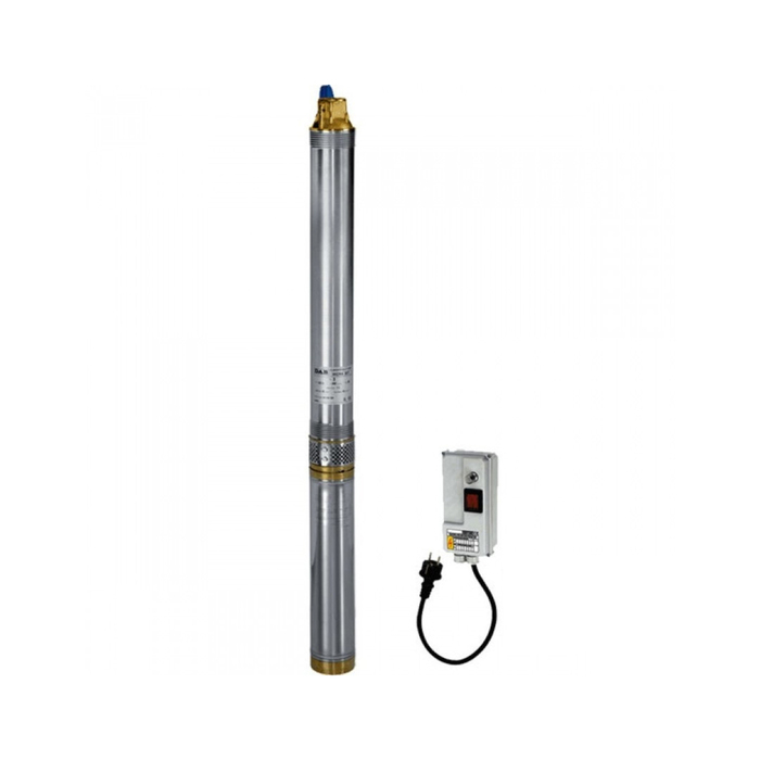 Насос скважинный DAB MICRA 75 M, 550 Вт, напор 64 м, 400 л/мин, с кабелем