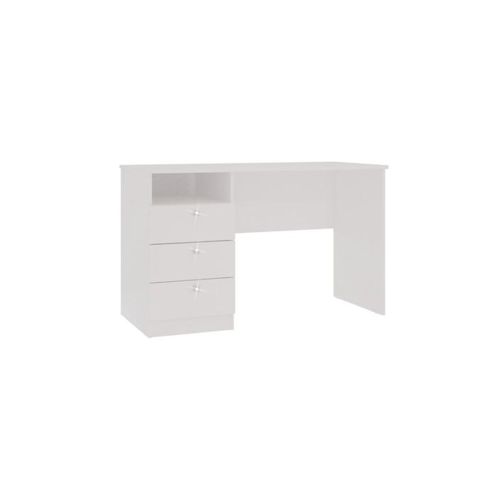 Стол Гламур, 1200х600х750, Белый глянец