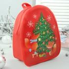 Рюкзак детский, отдел на молнии, цвет красный