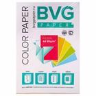 Бумага цветная А4, 50 листов, BVG неон, 5 цветов, 80 г/м2, класс А