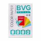 Бумага цветная А4, 50 листов, BVG интенсив, 5 цветов, 80 г/м2, класс А