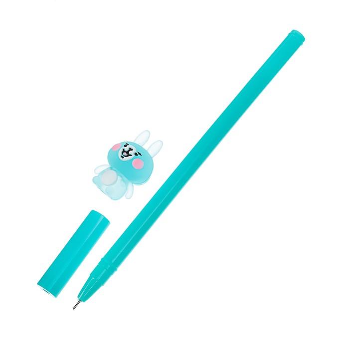 Ручка шариковая-прикол «Зайка», МИКС