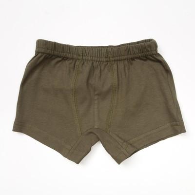 Трусы для мальчиков, цвет хаки, 98-104 см (28)