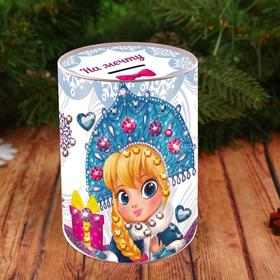"Piggy Bank to decorate with rhinestones ""a dream"""