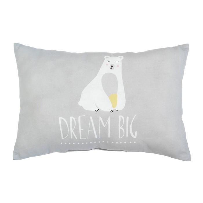 """Подушка """"Крошка Я"""" Большие мечты, 30х47 см, 100% хлопок, синтепон"""