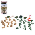 """A set of toy soldiers """"Army"""", 37 items"""